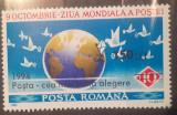 Cumpara ieftin Romania 1994 LP 1357 , 9 oct. ziua mondiala a Postei supratipar 1v. mnh, Nestampilat