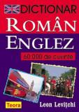 Dictionar roman-englez 60000 cuvinte | Leon Levitchi, teora