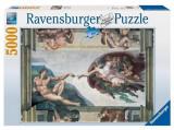Puzzle Michelangelo Creation Of Adam (5000 Pcs), Ravensburger