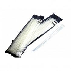 Colier plastic alb 290x3,6 set 100 buc