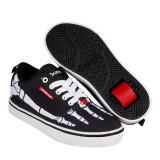 Heelys Pro 20 Print Black/White/Red/Skeleton, 31 - 35
