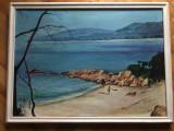 Tablou,pictura in ulei pe panza,tema marina,Mediterana
