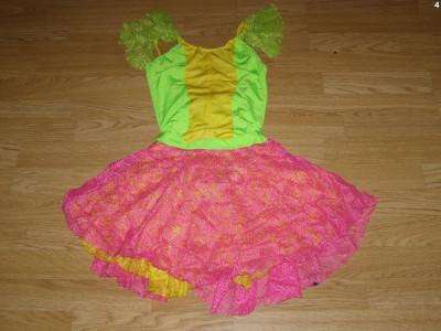 costum carnaval serbare rochie dans balet pentru adulti marime S foto