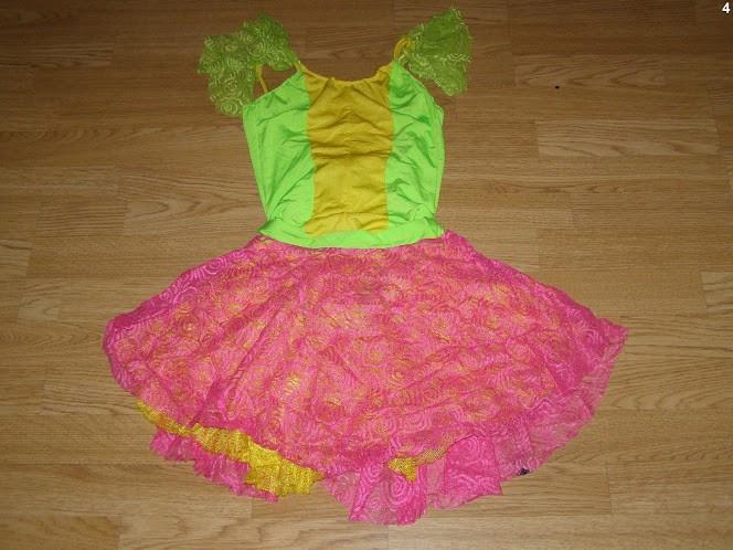 costum carnaval serbare rochie dans balet pentru adulti marime S