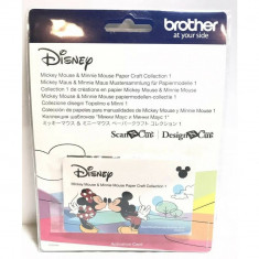 Colectie de modele pe hartie Brother CADSNP01 Mickey Mouse si Minnie Mouse Brother ScanNCut