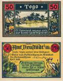 1922 (IV), 50 pfennig - Togo (coloniile Germane din Africa) - stare aUNC!