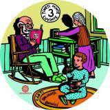 Coaster- Bunici, dulceață, cărți
