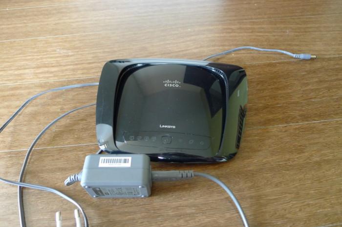 Router WiFi Linksys WRT320N