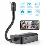 Cumpara ieftin Camera Spy WI-FI IP Flexibila 360 grade,Microfon, 1080P HD ,Activare la Miscare,Acumulatorul rezista 24 ore