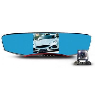 Resigilat! Camera Auto Dubla iUni Dash M80, Full HD, display 4.3 inch, 170 grade, Anytek foto