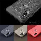 Husa / Bumper Antisoc model PIELE pentru Xiaomi Mi Mix 3
