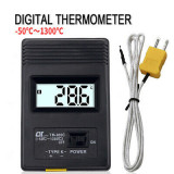 Termometru digital industrial cu sonda -50 - 1300 C TM-902C