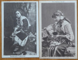 4 carti postale interbelice , costume populare romanesti , 3