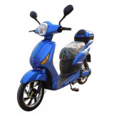 Scuter electric 350 W, 48 V, autonomie 35 km, fara permis, Z-Tech ZT 09 A