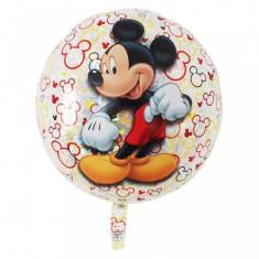 Balon Mickey Mouse Holografic 43 cm din folie