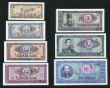 ROMANIA SET COMPLET 1, 3, 5, 10, 25, 50, 100 LEI 1966 SPECIMENE aUNC/UNC
