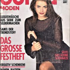 Burda revista de moda insert limba romana 45 tipare netaiate 11/94  (croitorie)
