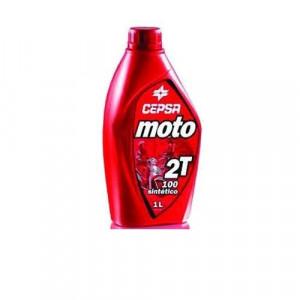 Ulei motor 2 timpi Cepsa Ulei 2T Moto 2T 100 Sintetico, 1 litru