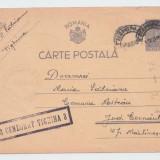 TRANSNISTRIA ,TIGHINA-CERNAUTI  1943 DOCUMENT RAZBOI RARITATE !GARANTAT ORIGINAL