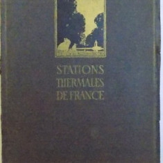 STATIONS THERMALES DE FRANCE 1921