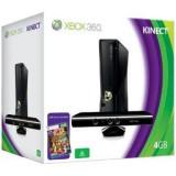 Consola Xbox 360 4GB cu Kinect Sensor si Kinect Adventures SH