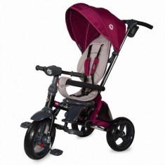 Tricicleta Multifunctionala 4in1 cu Sezut Reversibil Velo Violet Resigilat, Coccolle