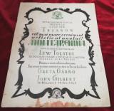 Iasi 1928 Anna Karenina Program cinematograf Cinema Trianon
