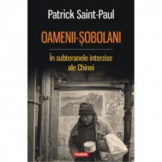 Oamenii-sobolani. In subteranele interzise ale Chinei - Patrick Saint-Paul