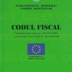Codul fiscal actualizat prin legea nr 343 din 17.07.2006 si Ordonanta Guvernului nr 43 din 16.08.2006