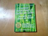 VINDECARI MIRACULOASE CU IARBA DE GRAU - Steve Meyerowitz - 2011, 254 p.