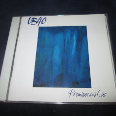 UB40 - Promises And Lies _ cd,album _ Virgin ( SUA , 1993 )