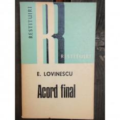 ACORD FINAL - E. LOVINESCU