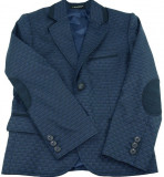 Sacou casual-elegant pentru baieti-LA KIDS 1586-07, Visiniu