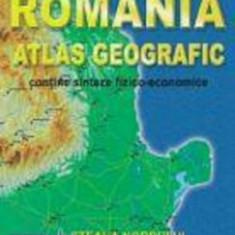 Romania. Atlas geografic - contine sinteze fizico-economice/Marius Lungu