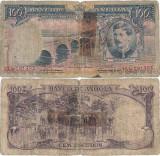 1956 (15 VIII), 100 escudos (P-89) - Angola!