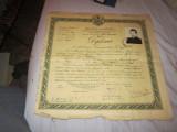 diploma absolvire  seminarul teologic an 1944 c18