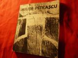 Simona Nistor -MILITA PETRASCU - Ed.Meridiane 1973 ,Prefata Ion Jalea , 116pag+