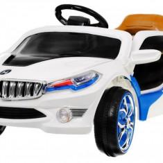 Masinuta electrica Rapid Sport, alb