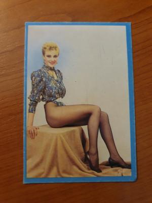 calendar de buzunar din anul 1991 foto