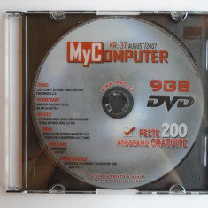 Dvd de la Revista MyComputer - 9 GB - Jocuri, Programe, Drivere