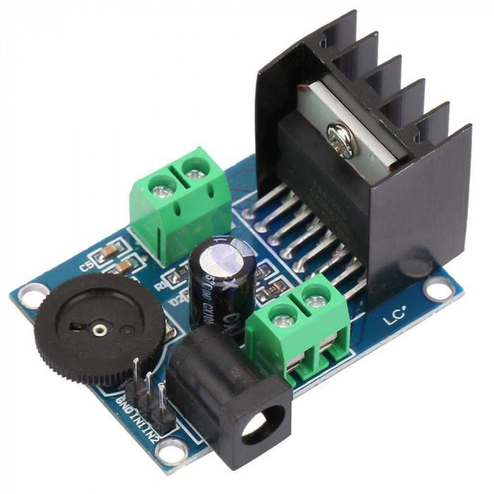 Modul amplificare TDA7266 / Amplificator stereo 2x7W cu radiator (t.370)