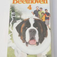 Caseta video VHS originala film tradus Ro - Beethoven 4