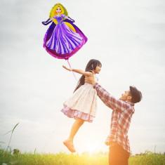 Balon Rapunzel gigant 60x40 cm, figurina din folie, aer sau heliu