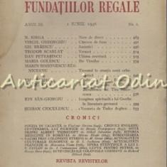 Revista Fundatiilor Regale - Anul III, Nr.: 6/1936