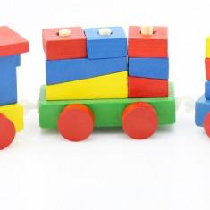 Tren Mio colorat lemn