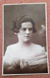 Portret de femeie. Fotografie datata 1929 - Atelier E. Popp, Ploesti
