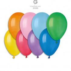 Baloane colorate din latex standard 21 cm set 100 buc