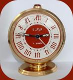 Ceas deșteptător Slava_URSS_anii 70_vintage