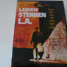A trai si a muri in L.a -dvd, Franceza