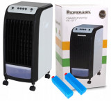 Aparat de Aer Conditionat Clima Mobila Portabila Ravenson 3 in 1 cu Functie de Racire, Umidificare si Purificare, 410 m3/h, 75W